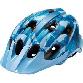 Kali Pace Camo Helmet, matt blue